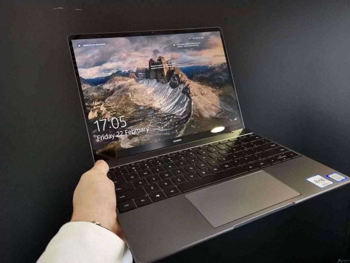 Huawei apresenta MateBook 13 no MWC 2019 para arrasar o Apple MacBook Air 1