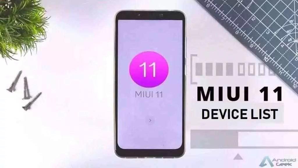Lista completa dispositivos Xiaomi com MIUI 11 prevista 1