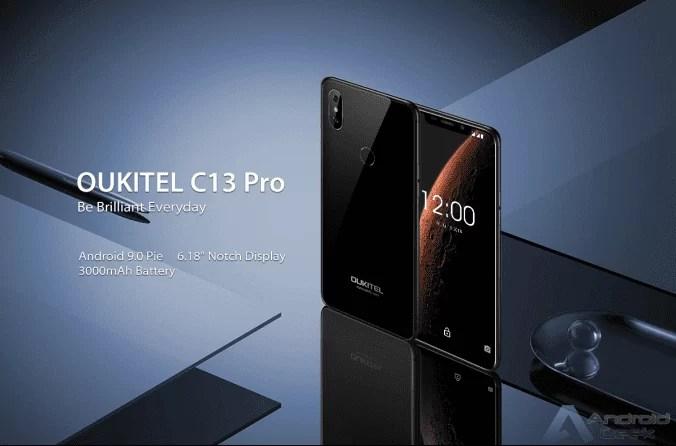 OUKITEL C13 Pro: Notch Display e Android 9.0 Pie é uma aposta segura 1