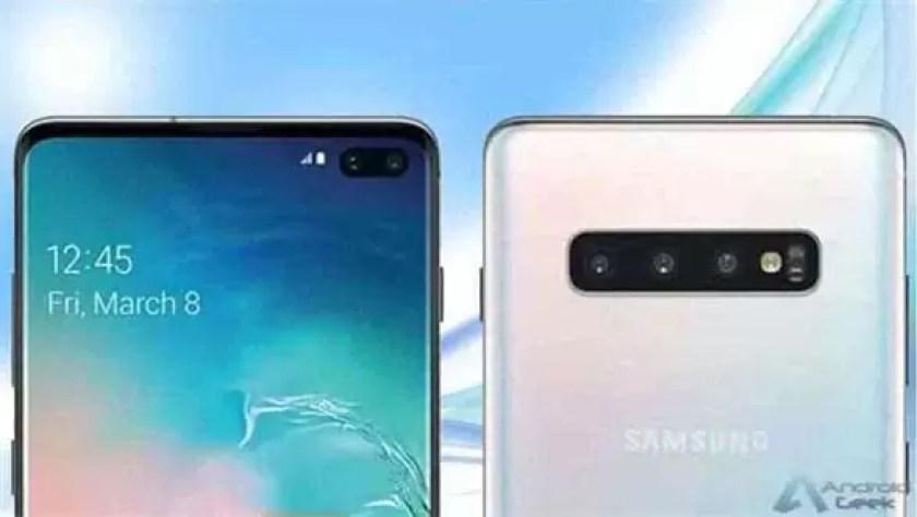 A FCC revela informações oficiais do novo Galaxy S10 1
