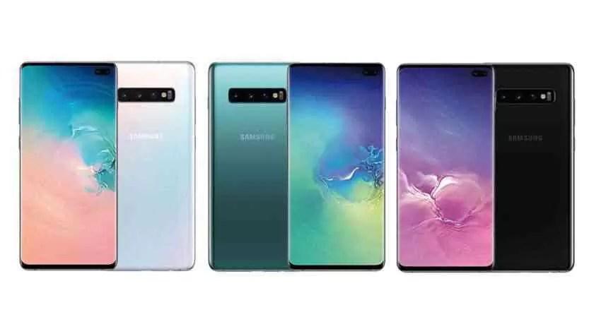 Samsung Galaxy S10 Plus Sem marcas d'água
