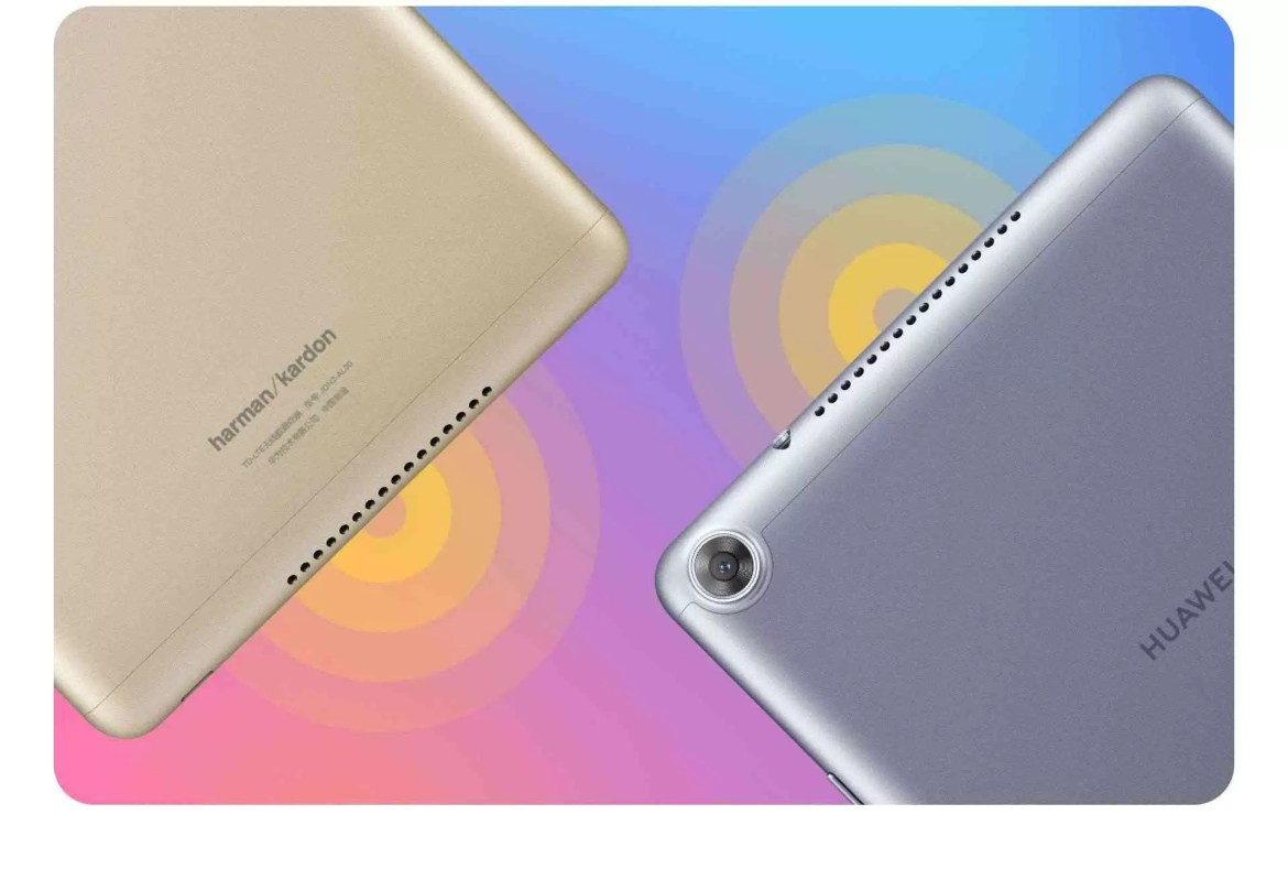 Cores do Huawei MediaPad M5 Youth Edition