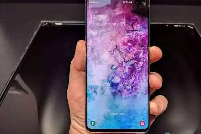 Série Samsung Galaxy S10