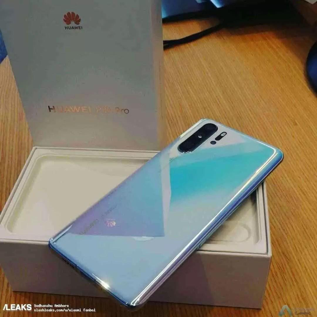 Caixa de venda Huawei P30 Pro confirma alguns detalhes 2