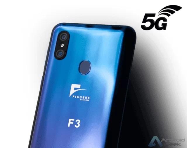 Figgers F3 . Já existe um telefone que carrega sem fio a 5 metros da base 1