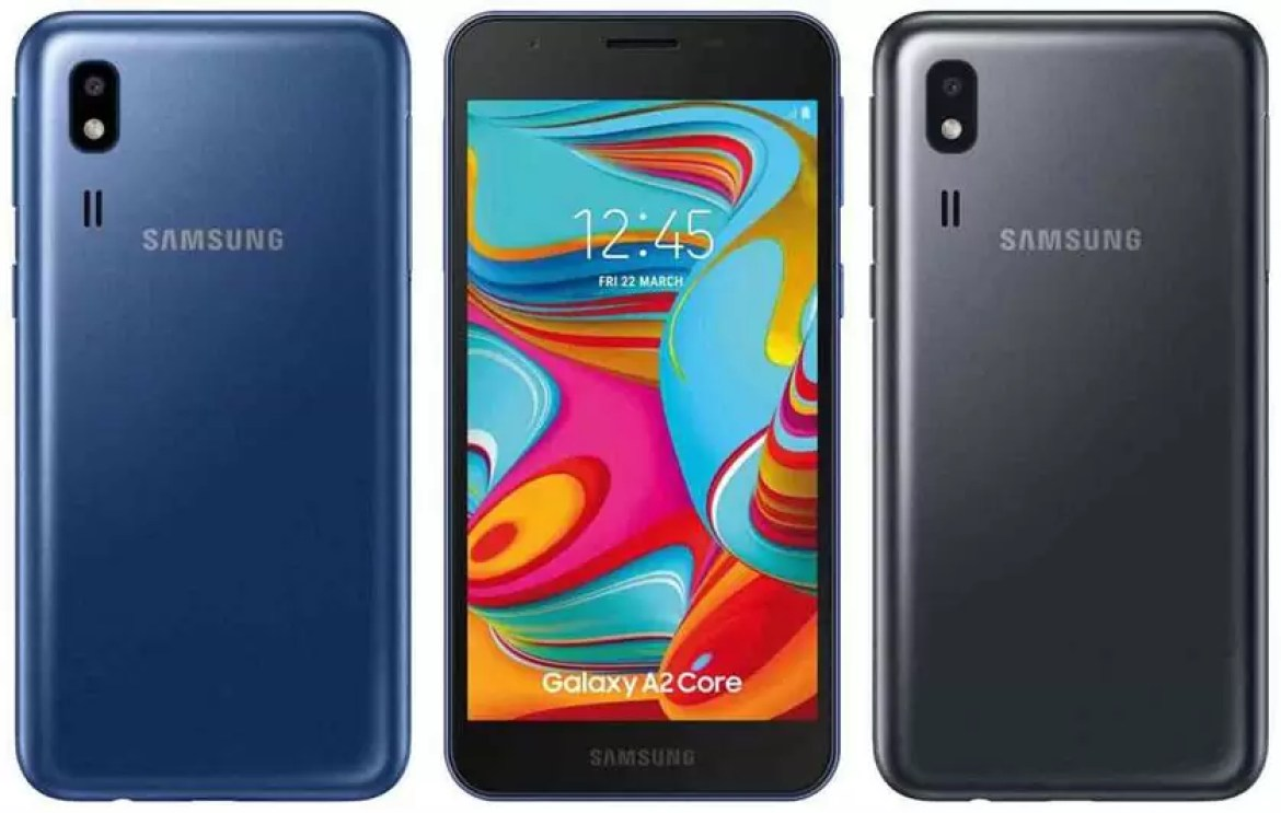 samsung android ir Galaxy a2 core
