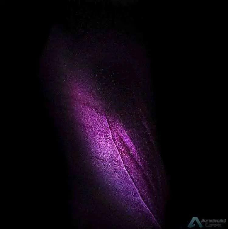 Galaxy Fold. Façam Download dos papéis de parede oficiais 3