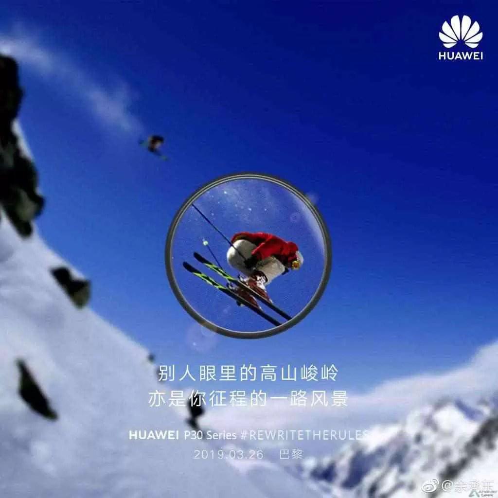 """Huawei brinca com os recursos """"Super Zoom"""" do Huawei P30 2"""