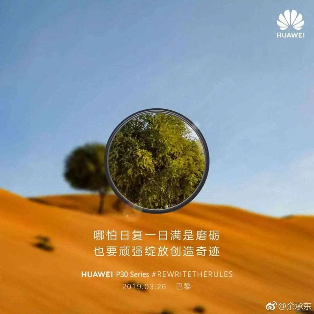 """Huawei brinca com os recursos """"Super Zoom"""" do Huawei P30 3"""