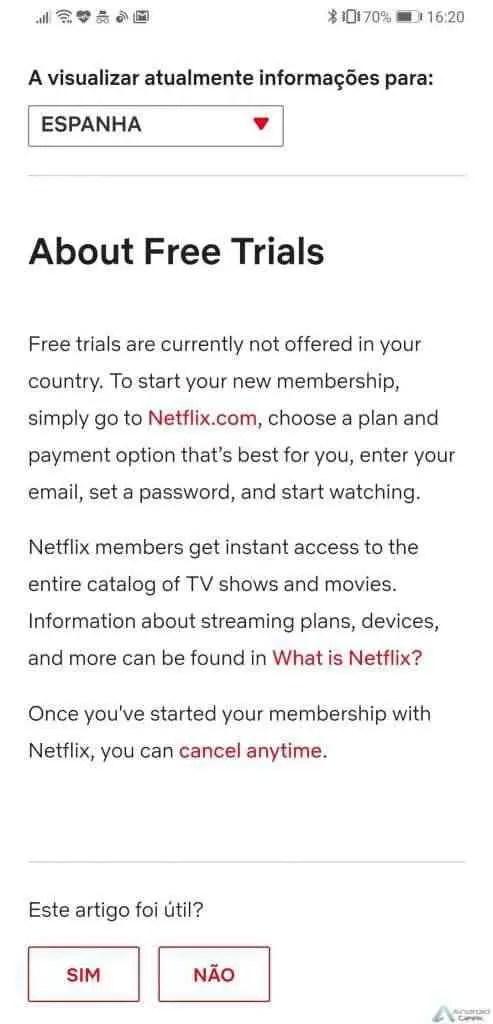 Netflix retira (em alguns mercados) o mês de teste gratuito para novos utilizadores 1