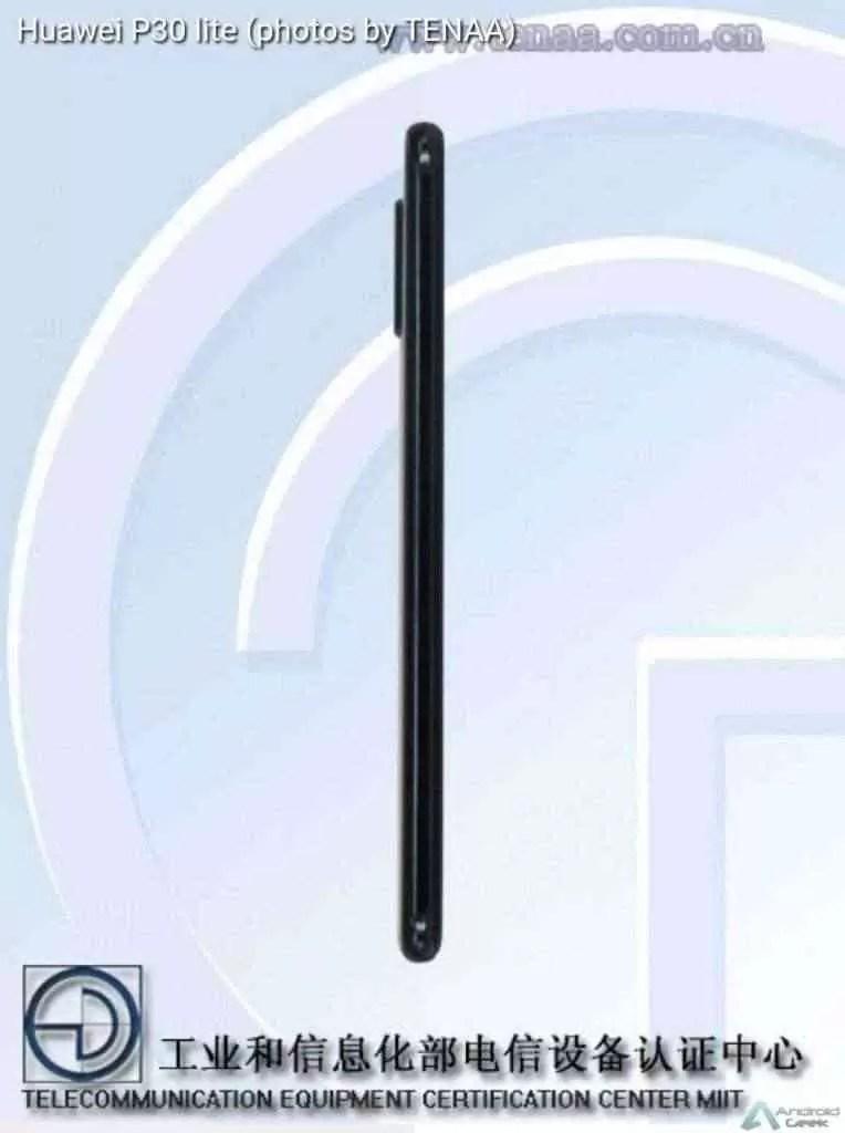 Novas fotos do Huawei P30 Lite mostram uma câmara tripla 3