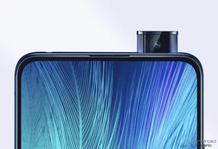 Vivo X27 está a chegar - novo poster oficial revela o seu design de câmara frontal 1