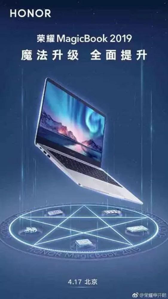 Honor 20i e MagicBook 2019 oficiais a 17 de abril 1