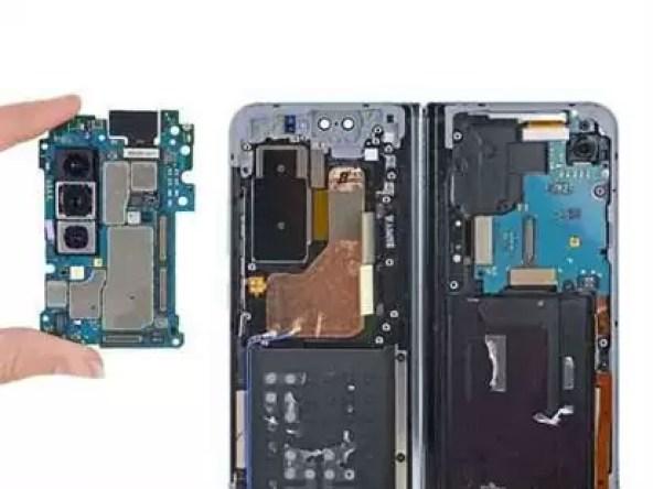 Desmontagem do Samsung Galaxy Fold iFixit
