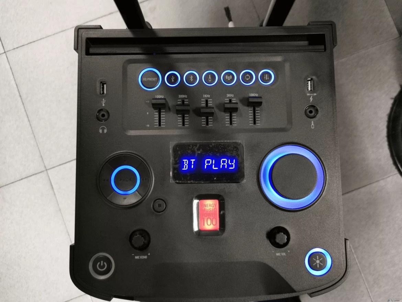 Análise Energy Sistem Party 3 é uma discoteca portátil 5