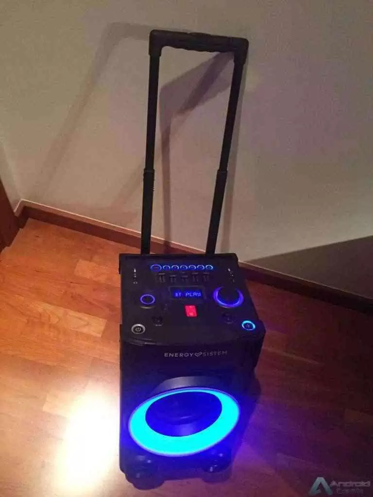 Análise Energy Sistem Party 3 é uma discoteca portátil 3