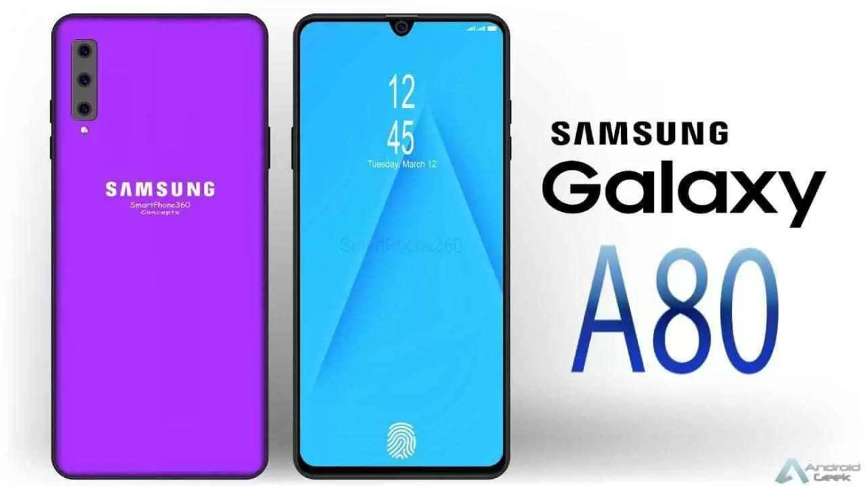 """Samsung Galaxy A80 Criado para a geração """"Live"""" finalmente revelado 1"""