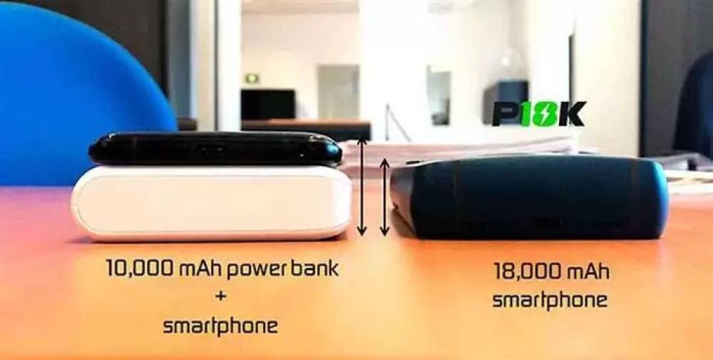 O smartphone com a bateria mais alta não alcança financiamento: adeus ao Energizer P18K