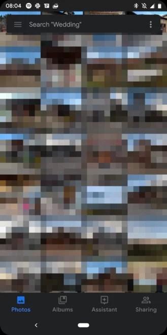 Novo APK com atualização do Google Fotos corrige os bugs no modo escuro Android Q 3
