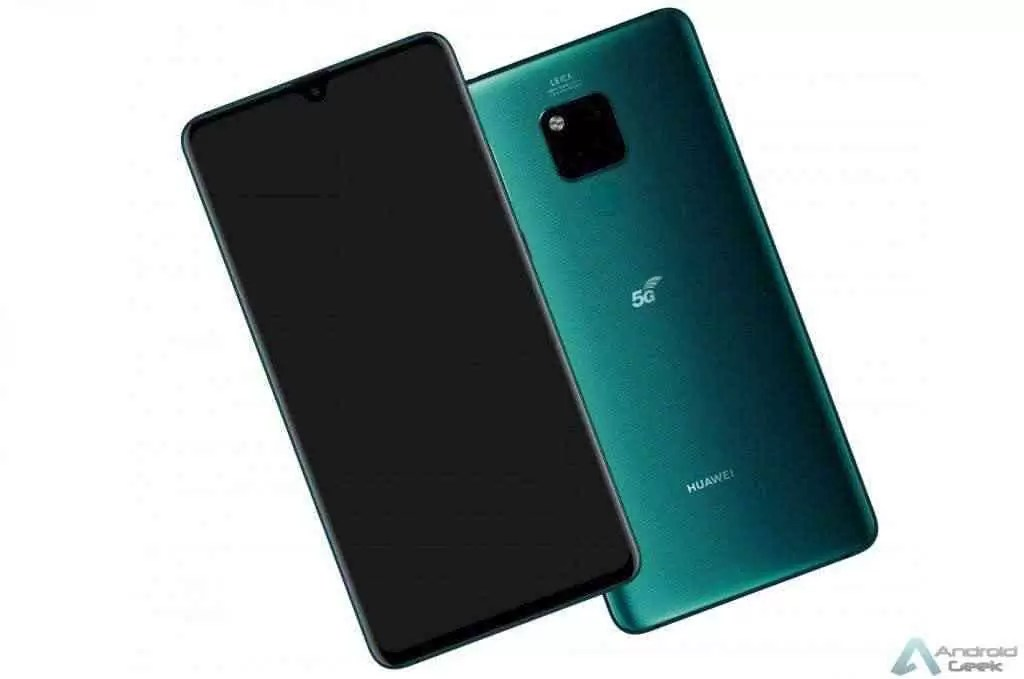 Huawei Mate 20 X 5G aparece em vídeo prático, especificações chave reveladas 1