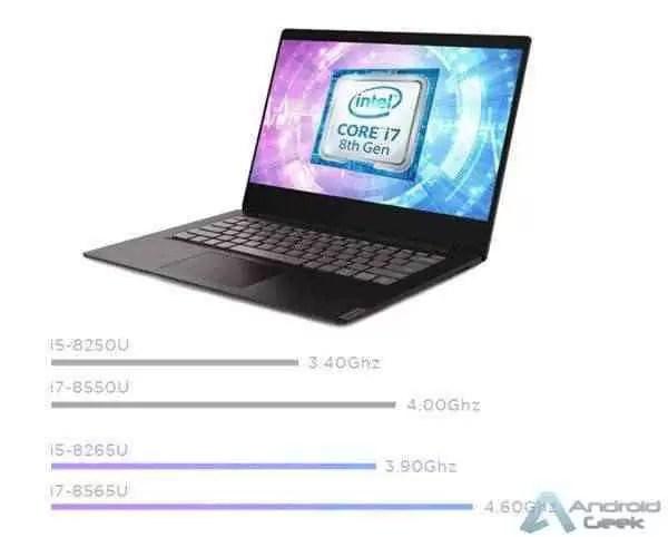 Lenovo Xiaoxin Lite Notebook com Chipsets 8th-Gen da Intel Lançado 1