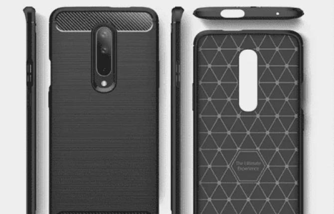 Mais capas vêm revelar o design completo do OnePlus 7 4