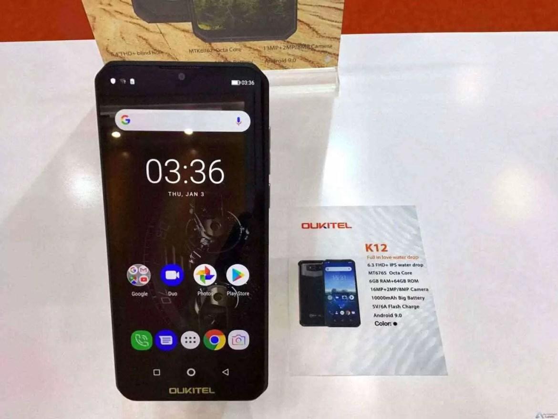 OUKITEL apresenta 3 Grandes Smartphones de Bateria e ecrã gigantes na Exposição Global de Eletrónica 3