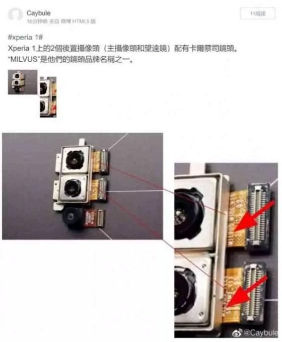 zeiss de lente xperia 1