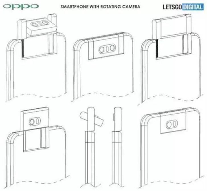 Oppo pode estar a trabalhar em outro telefone com mecanismo de câmara rotativa 1