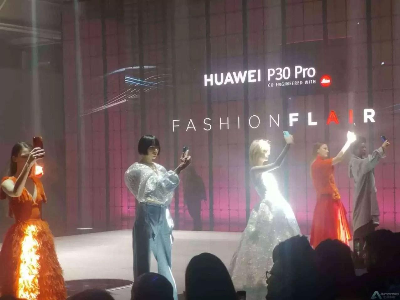 Huawei apresenta a primeira coleção de moda do mundo desenvolvida a partir da Inteligência Artificial do P30 2