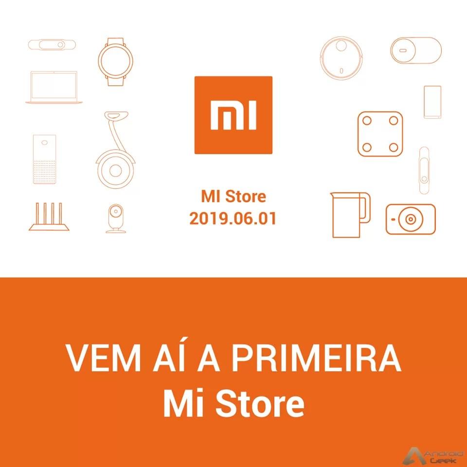 Aparentemente teremos a primeira Mi Store em Portugal já no dia 01/06 1