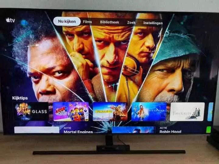 Nova aplicação da Apple TV lançada para as Smart TVs da Samsung 2