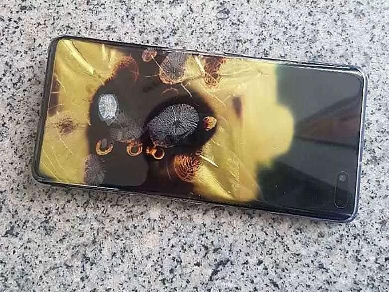 Samsung reage a Galaxy S10 5G que explodiu na Coreia do Sul 1