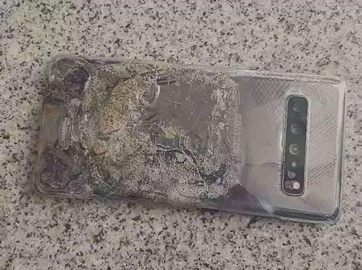 Samsung reage a Galaxy S10 5G que explodiu na Coreia do Sul 2