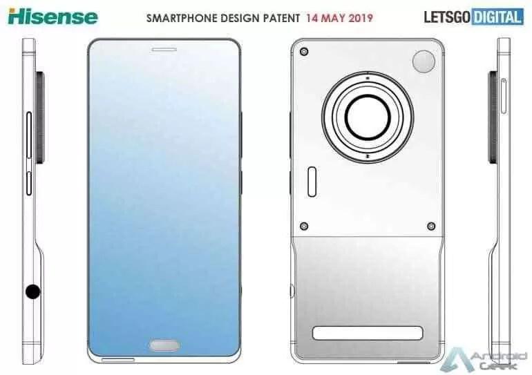 Novo smartphone HiSense com lente de câmara profissional 1