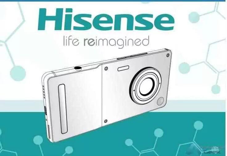 Novo smartphone HiSense com lente de câmara profissional 2