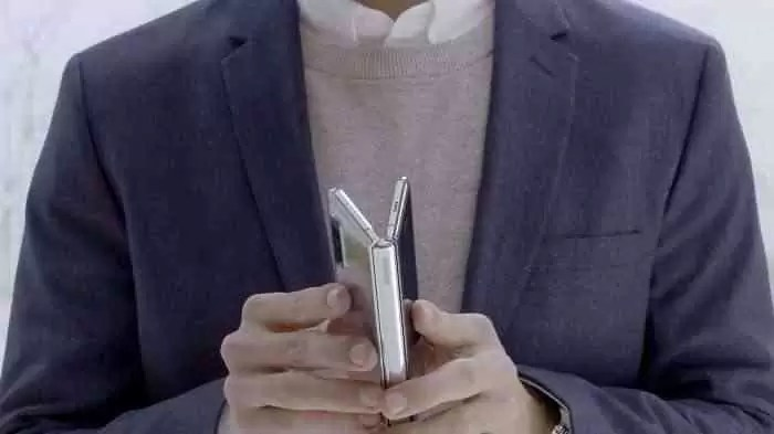 Vídeo da Samsung no Samsung Galaxy Fold