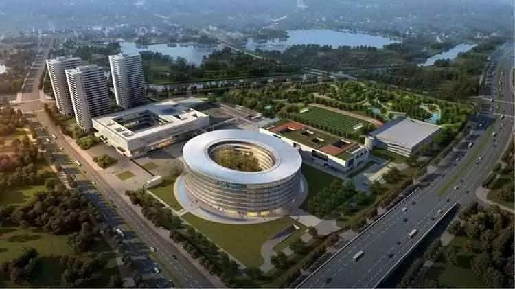 O parque industrial e nova sede da Vivo na china, está concluído 1