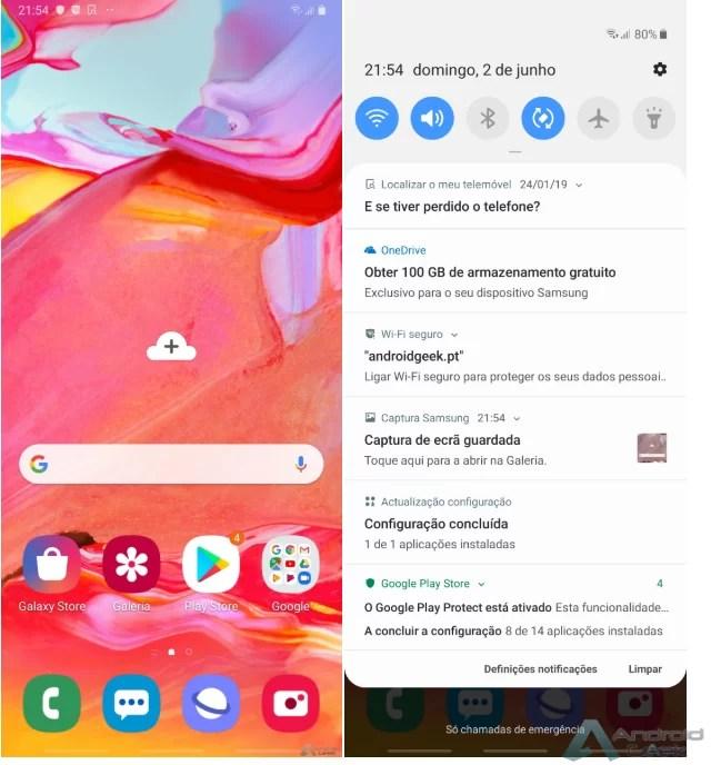 Análise Samsung Galaxy A70: Um topo de gama disfarçado 5