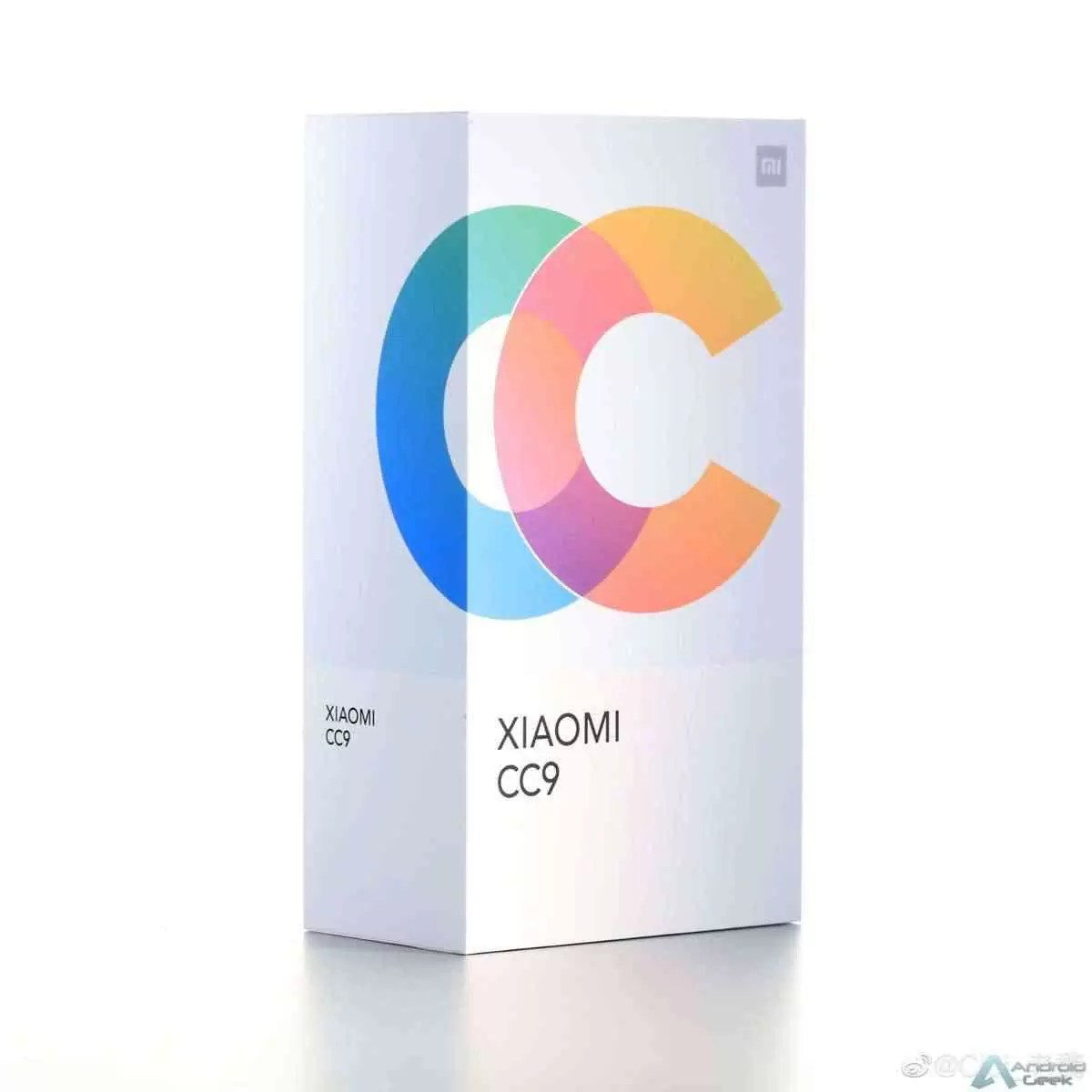 Caixa de venda Xiaomi CC9