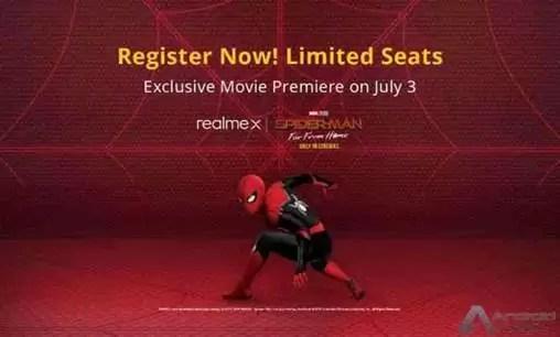 Realme X Spiderman Edition chega com temas personalizados numa caixa de venda especial