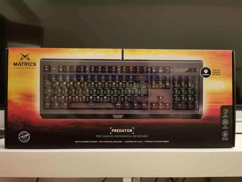Primeiras impressões teclado MSC500 Matrics Predator 5