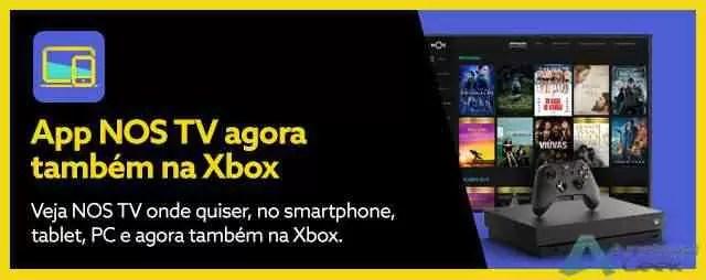 Clientes NOS já podem ver TV na Xbox 2