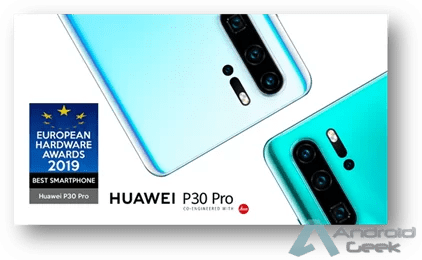 Huawei eleito o melhor smartphone nos prémios European Hardware Awards 2019 1