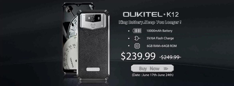 OUKITEL K12 mostra testes malucos de qualidade, está na Gearbest a $239.99 1