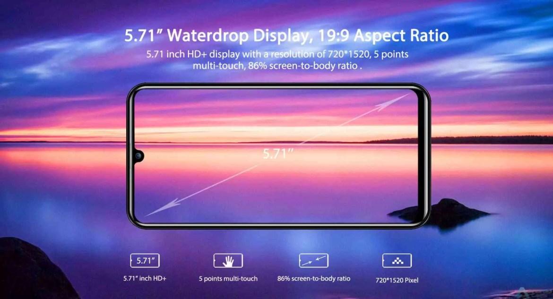 Novo OUKITEL C16 Pro apresentado como o mais económico smartphone 4G com ecrã Waterdrop 2