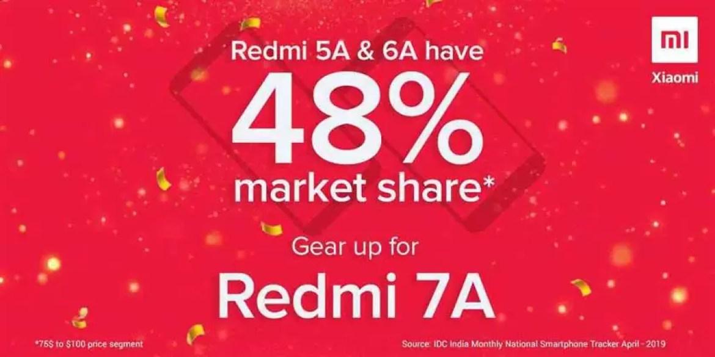 Vendas da série Xiaomi Redmi A ultrapassaram 23,6 milhões de unidades na Índia! 1