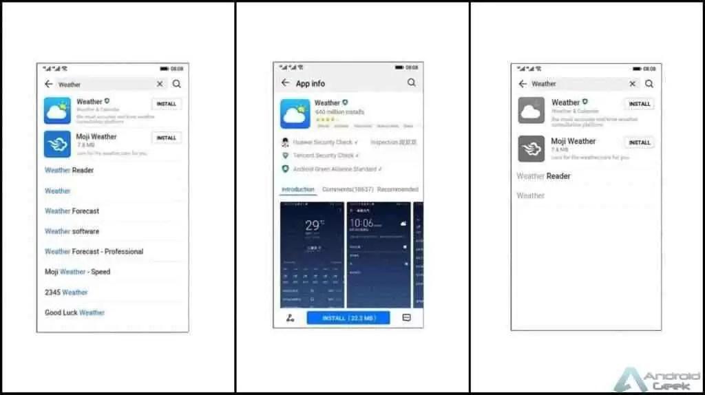Ark OS da Huawei : temos screenshots do que o sistema operativo pode ser 2
