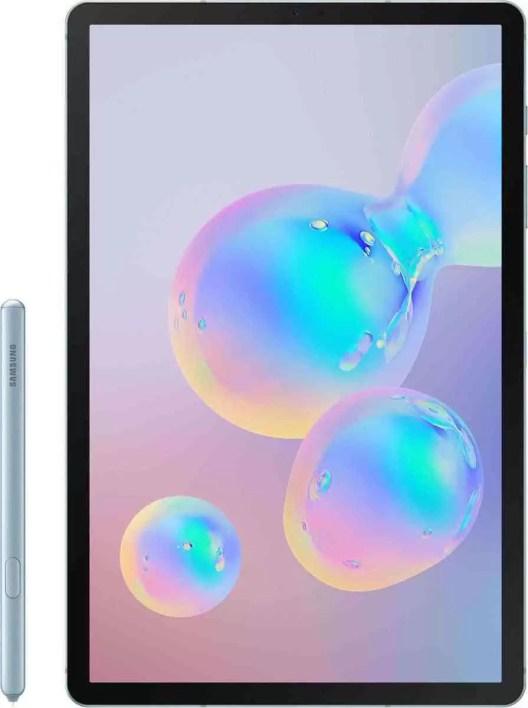 Foto do Galaxy Tab S6, revela que tem um scanner de impressão digital no ecrã 1