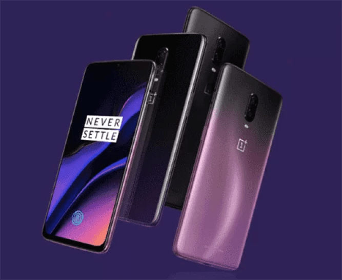 Variantes de cor OnePlus 6T China